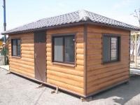 Дачный домик 3,5х6х3,1 кв.м. внутренняя отделка имитация бруса