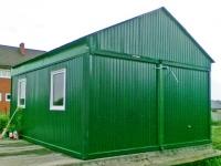 Дачный домик 4,8х6х3,1 м.  внутренняя отделка ПВХ
