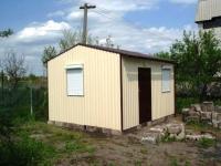 Дачный домик 3х6х2.8 м.внутренняя отделка Вагонка