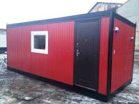 Дачный домик из бытовки 6х2.4х2.5