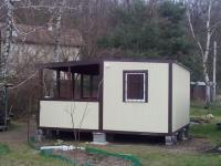 Дачный домик 4,8х6х2,8м-внутренняя отделка МДФ