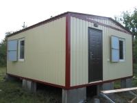 Дачный домик 4,8х6 м. внутренняя отделка Вагонка