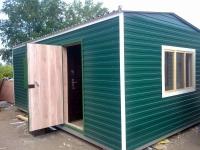 Дачный домик 4х7х2.8м. внутренняя отделка Вагонка