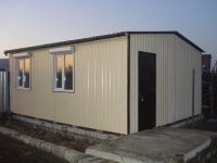Дачный домик 4,8х6х3,1 кв.м. внутренняя отделка имитация бруса