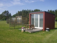 Дачный домик 3х4х3 кв.м. внутренняя отделка имитация бруса