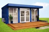 Дачный домик 4х6х3 кв.м. внутренняя отделка имитация бруса