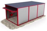 Гараж 3,6х6х2,5м (холодный гараж)