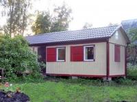 Дачный домик 19,2 кв.м. внутренняя отделка Вагонка