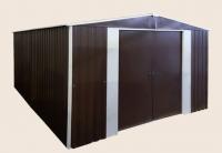 Сарай металлический 4х5х2.5 м (сарай металлический для дачи)