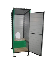 Летний туалет 1.5х2х2,5м