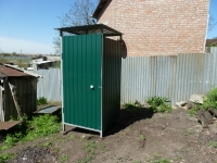 Летний туалет 1.5х1.5х2,5м