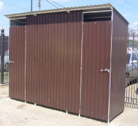 Летний туалет  4х1.5х2,5м