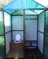 Летний туалет  2х2х2,5м