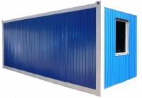Блок-контейнер 6.0x2.4x2.5м, внутренняя отделка ДВПО