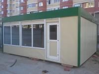 Торговый павильон 24 м.кв сэндвич-панель