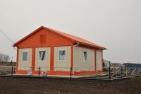 Дачный домик 42 м.кв на базе блок контейнеров внутренняя отделка ПВХ