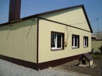 Дачный домик 64.8 м.кв (7.2х9х3.1м) внутренняя отделка ПВХ