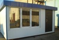 Офис модульного типа 17.1 кв.м..Внутренняя отделка ПВХ
