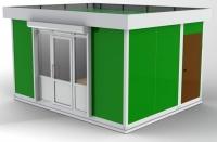 Павильон 16.5 кв.м сэндвич-панель