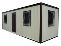 Блок-контейнер 6.0x2.4x2.5м, внутренняя отделка МДФ