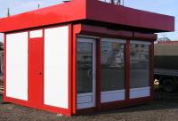 Торговый киоск 20 кв.м сэндвич-панель