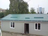 Дачный домик 10х7.3х3.1 м. внутренняя отделка Вагонка