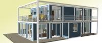 Дачный домик 12х7х5 м.  внутренняя отделка ПВХ
